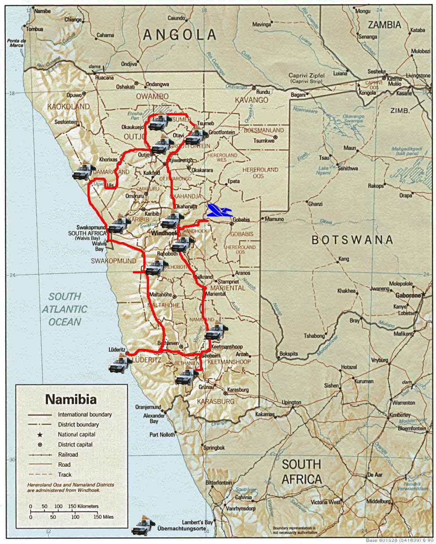 Www Burgi Online Ch Website Philipp Burger Namibia