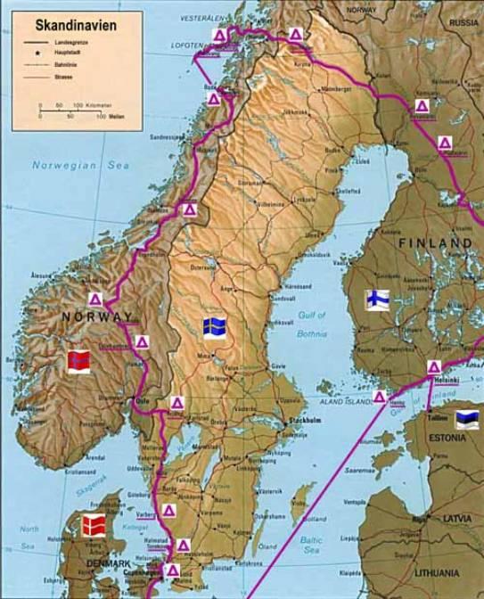 norwegen camping karte andalusien karte