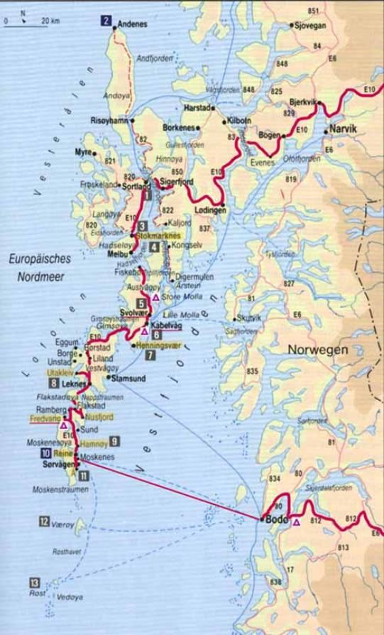 Karte Norwegen Schweden.Www Burgi Online Ch Website Philipp Burger Skandinavien 2002